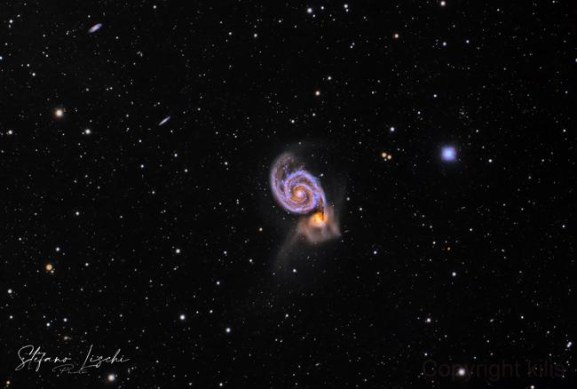 M51 Galassia Vortice